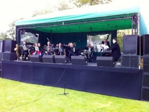 Stage rental Hampshire